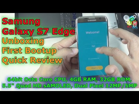 [Hindi-Audio]-Samsung Galaxy S7 Edge Unboxing, First Bootup & Review