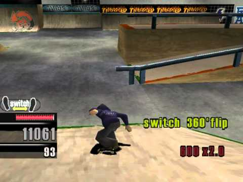 Thrasher: Skate And Destroy – Level 24 – Europa, Kolosseum (Experte)