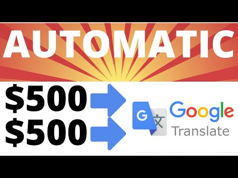 Get Paid $500 Daily From Google Translator FREE Paypal Stimulus - Worldwide Make Money Online 2020