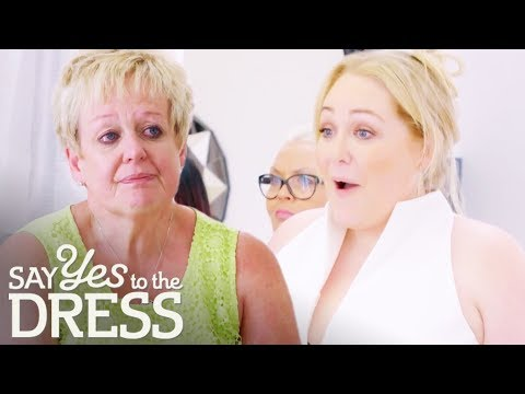 Bride Wows Her Entourage In Wedding Dress After Losing 8 Stone! | Curvy Brides Boutique