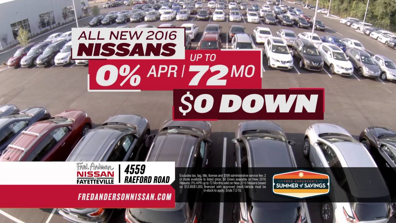 Fred Anderson Nissan Of Fayetteville   Summer Of Savings