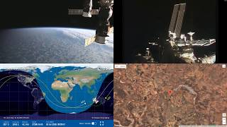 Sunset Over Australia And Indonesia - NASA/ESA ISS LIVE Space Station With Map - 29 - 2018-07-17
