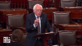 Sen. Bernie Sanders reactions to congressional baseball shooting