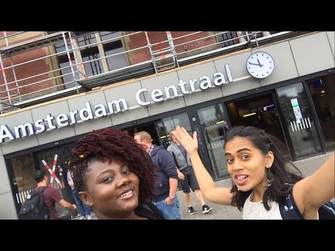Travel Vlog | My Travel Guide Challenge | Amsterdam City | Day 1 | Canal Cruise | City Walk