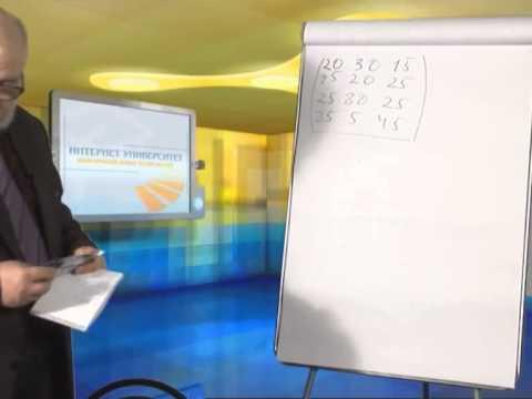 Лекция 22: Использование методов теории игр при принятии решений