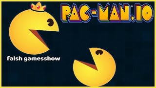 PAC-MAN.iO - Dominating Biggest Pac-Man