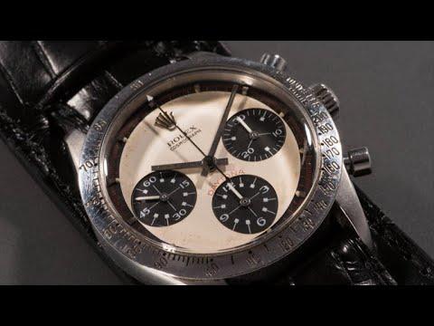 Paul Newman's record-breaking watch