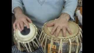 White India - Tabla lesson 22 - Kherewa Tal 8 beats - Part 1