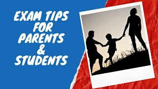 Tips Every Parent Should Know | Exam Tips For Students & Parents | LetsTute