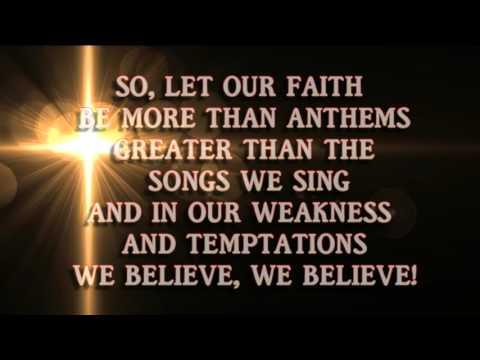 We Believe Instrumental