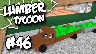 Lumber Tycoon 2 #46 - SO MUCH GREEN ZOMBIE WOOD (Roblox Lumber Tycoon)