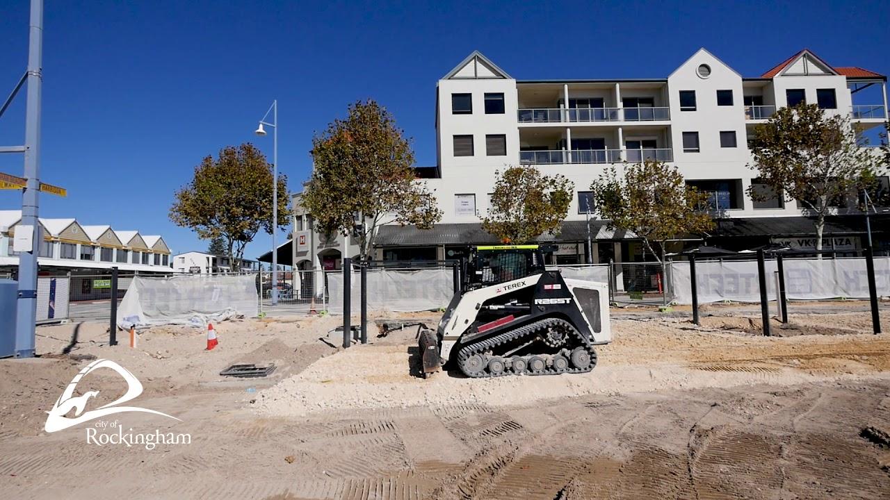 Rockingham Beach Foreshore Revitalisation Project Update