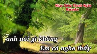 Lời Của Gió - Karaoke Nhạc Sống Thanh Ngân