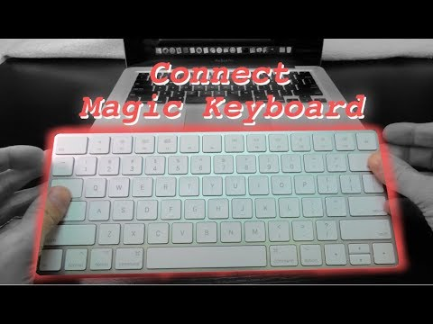 How to connect Apple Magic Keyboard