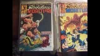 STRIKEFORCE MORITURI comics #1 Marvel Comics