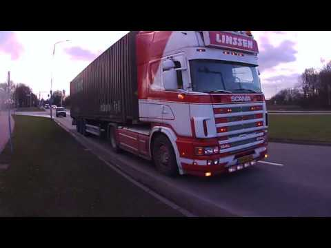 Scania with a Cool Awesome Engine Sound, Dutch Nickname is Brul Pijp !!!