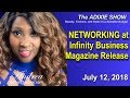 Networking at Infinity Business Magazine Release Party