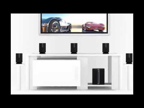 iLive HT050B 5.1 Channel Home Theater Speaker System