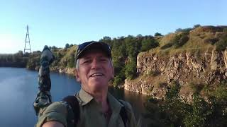 Рыбалка на реке Днепр Старые Кодаки Поймал судака Лето