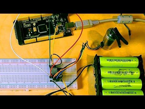Подключение шагового двигателя к Arduino, драйвер DRV8825.
