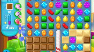 Candy Crush Soda Saga Level 1444 - NO BOOSTERS