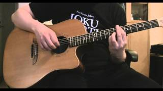 Hopeinen kuu (Guarda Che Luna) - Acoustic guitar version by Kyösti Rautio
