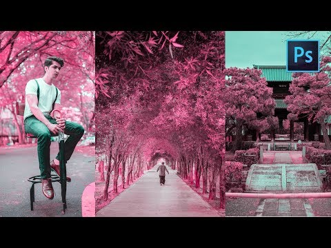 [ Photoshop Tutorial ] SAKURA Color Tone  + FREE PRESET thumbnail