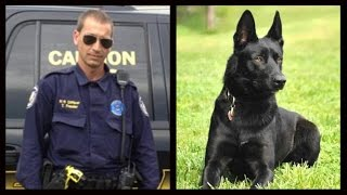 K9 Saves Officer From Slit Throat In Roadside Ambush