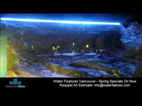 Pondless Waterfalls Vancouver BC | Garden Water Features | Fountains | WaterfallNow