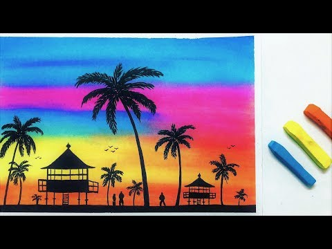 Landscape Drawing for Beginners with Soft Pastels