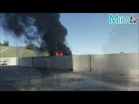 Incendio en Punto Limpio Sur de Jerez de la Frontera
