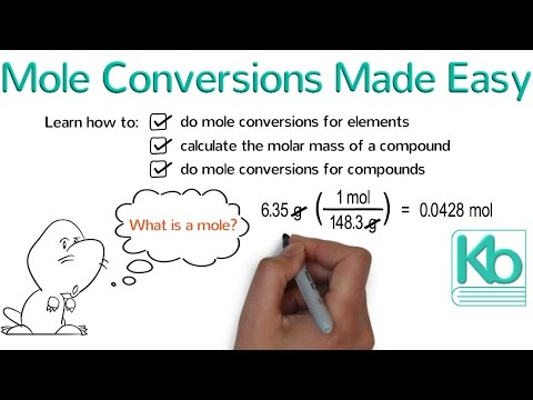 Mole Conversions Made Easy: How To Convert Between Grams And Moles