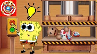 All Machines WEAPON VS The Buddy - Kick The Buddy Vs Spongebob's Game Frenzy (iOS)
