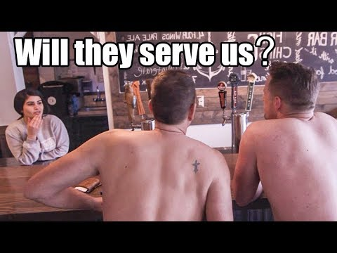 No Shirts, No Shoes, NO SERVICE? Is this TRUE??