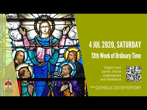 Catholic Weekday Mass Today Online -  Saturday, 13th Week of Ordinary Time 2020