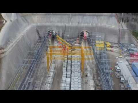 Tuneladoras del Tren México-Toluca