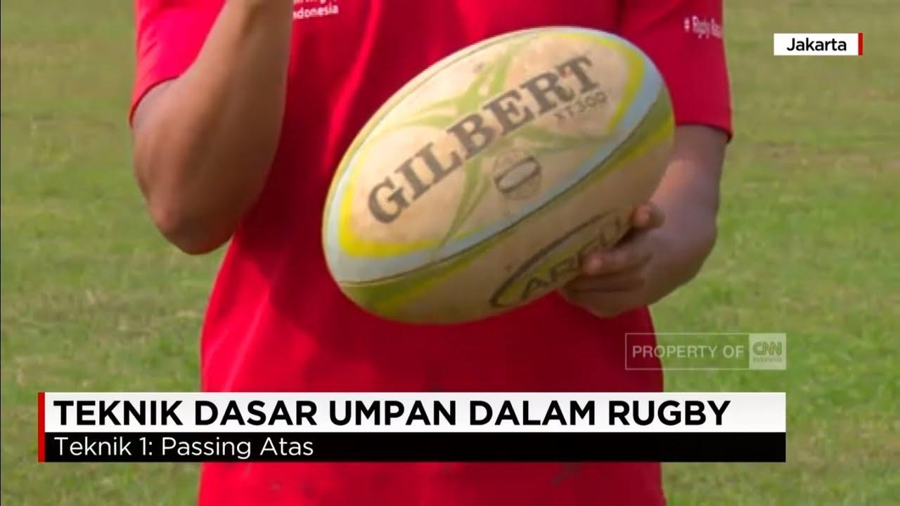 Teknik Dasar Umpan Dalam Rugby Youtube