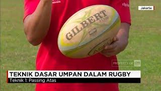 Teknik Dasar Umpan Dalam Rugby