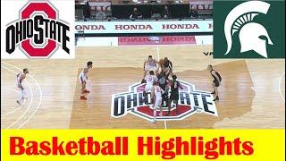 Michigan State vs <b>Ohio State Basketball</b> Game Highlights 1 31 2021 ...