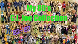 My Vintage 80's G.I. Joe Action Figures Collection