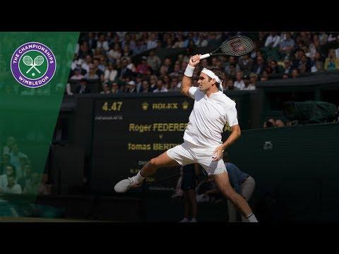 Wimbledon 2017 - Best shots of day 11