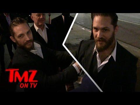 Tom Hardy Sets The Record Straight | TMZ TV