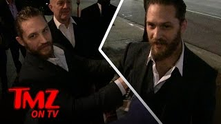 Repeat youtube video Tom Hardy Sets The Record Straight | TMZ TV