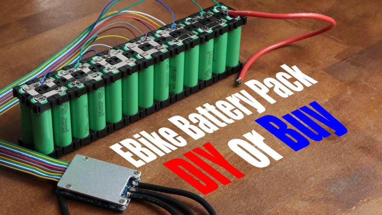 EBike Battery Pack || DIY or Buy || Electric Bike Conversion (Part 2)