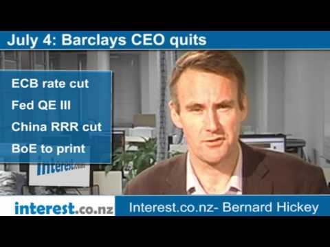 90 seconds at 9 am: Barclays CEO quits (news with Bernard Hickey)