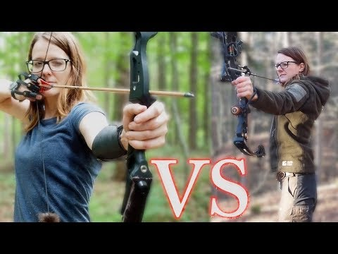 Compound Bow VS Recurve Bow! Which is better??