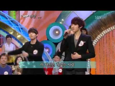 SungYeol (Infinite) on SBS Challenge! 1000 Songs (도�곡) + mp3