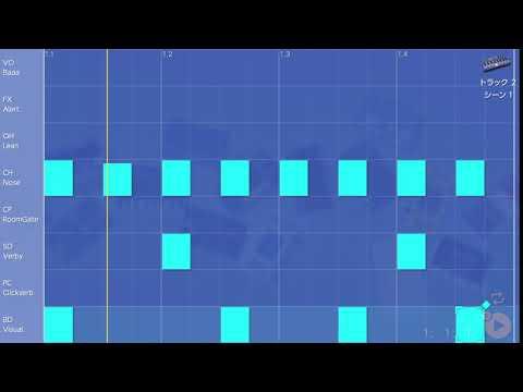 画像2: 05 キックのタイミングを変えてみる バレッドプレス KORG Gadget for Nintendo Switch講座 www.youtube.com