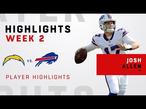 Josh Allen's Highlights vs. LAC