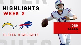 Josh Allen's Highlights vs. LAC